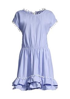 Peixoto Nissi Pom-Pom Dress