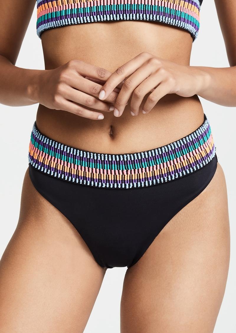 Peixoto Zoni High Waist Bikini Bottoms