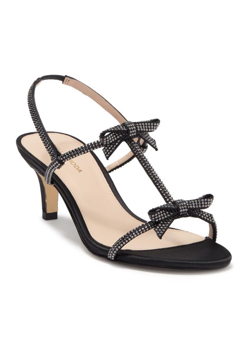 Pelle Moda Berta Embellished Slingback Sandal