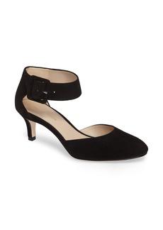 Pelle Moda Ankle Strap Pump (Women)