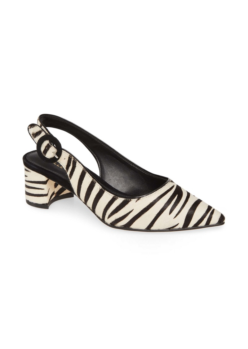 Pelle Moda Autumn Genuine Calf Hair Slingback Pump (Women)