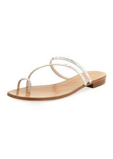 Pelle Moda Bohem Embellished Slide Sandal