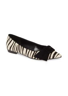 Pelle Moda Dana Genuine Calf Hair Skimmer Flat (Women)
