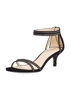 Pelle Moda Fillis Kitten-Heel Dressy Sandal