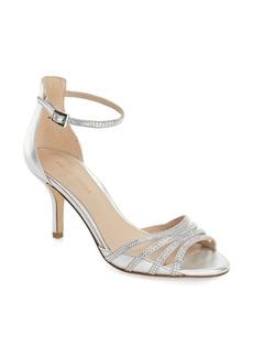 Pelle Moda 'Isabel' Crystal Embellished d'Orsay Sandal (Women)