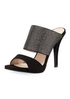 Pelle Moda Josie Embellished Dressy Mule Sandal