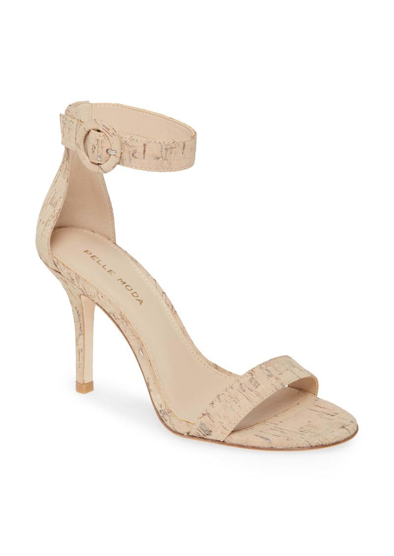 Pelle Moda Kallie Genuine Snakeskin Sandal (Women)