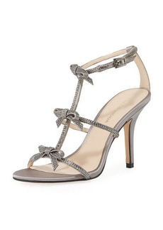 Pelle Moda Kiss  Crystal-Embellished High Sandal