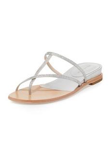 Pelle Moda Neka Embellished Flat Slide Sandal
