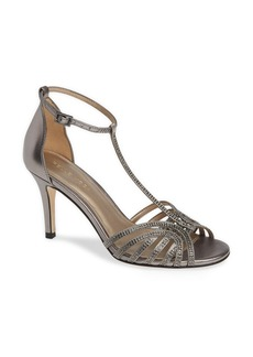 Pelle Moda Rochell Crystal Embellished Sandal (Women)
