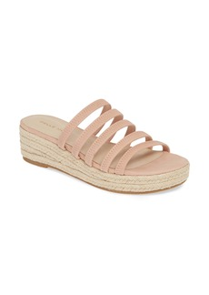Pelle Moda Selby Strappy Platform Slide Sandal (Women)