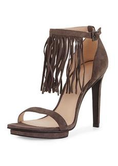 Pelle Moda Taft 3 Suede Fringe Sandal