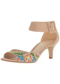 Pelle Moda Women's BERLIN2 Heeled Sandal   Medium US