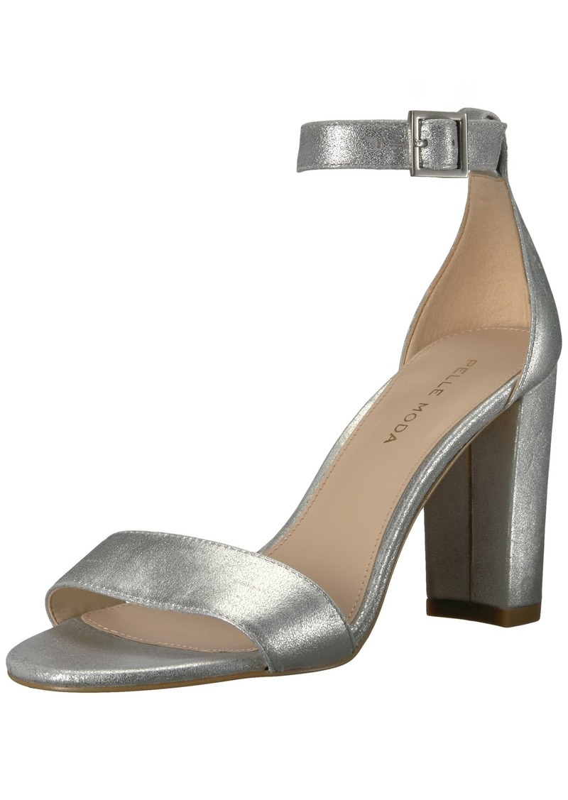 Pelle Moda Women's Bonnie Heeled Sandal   M US