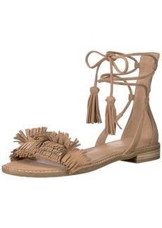 Pelle Moda Women's HARAH Flat Sandal   Medium US
