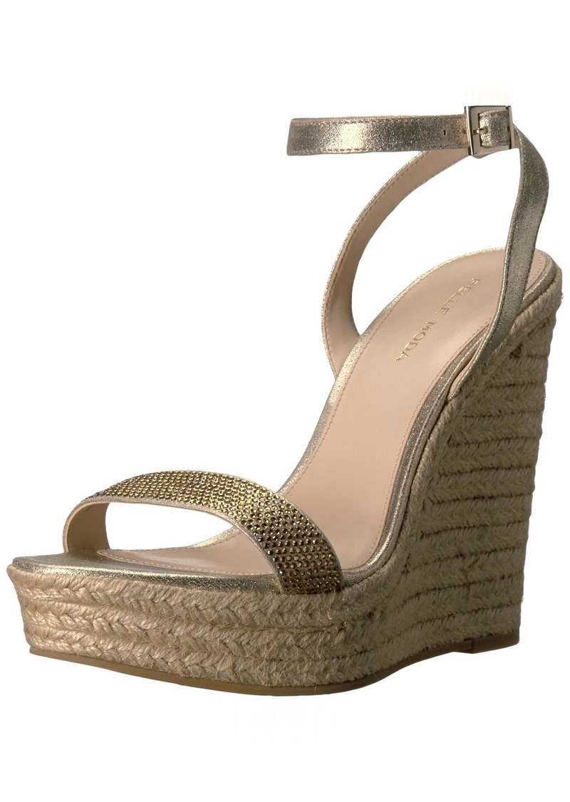 Pelle Moda Women's Only-ms Wedge Sandal   M US