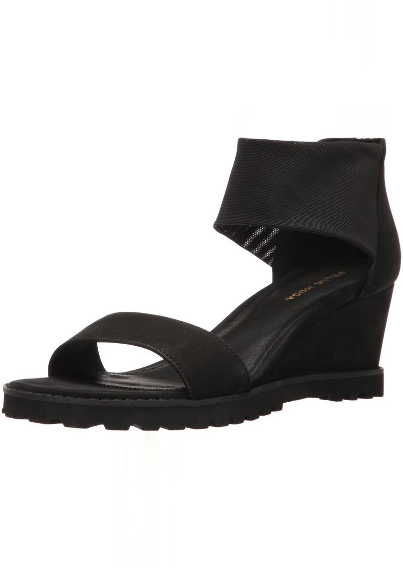 Pelle Moda Women's Ricki-nu Wedge Sandal   M US