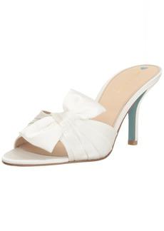 Pelle Moda Women's Riri-st Slide Sandal white 6 M US