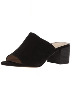 Pelle Moda Women's Union-su Slide Sandal black 9.5 M US