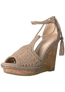 Pelle Moda Women's Wade-nu Wedge Sandal   M US