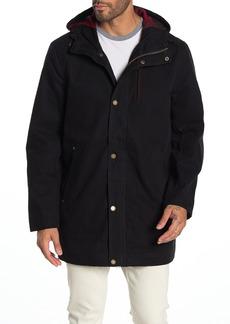 Pendleton Black Hawk Hooded Zip Canvas Jacket