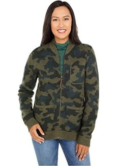 Pendleton Boiled Wool Bomber Jacket