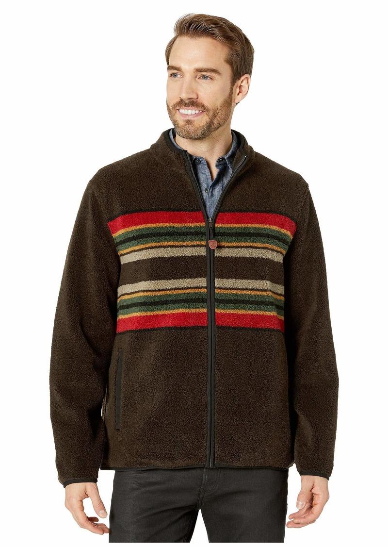 Pendleton Camp Stripe Zip-Up Fleece Jacket