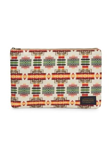 Pendleton Coated Print Canvas Pouch