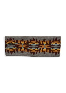 Pendleton Geometric Wool Ear Warmer