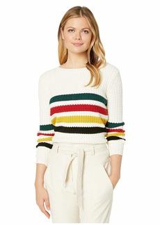 Pendleton Glacier Stripe Merino Sweater