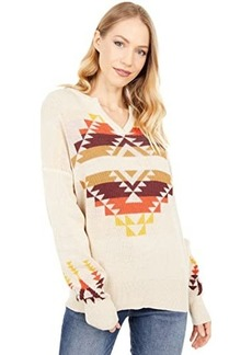 Pendleton Graphic Cotton Sweater