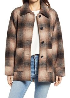 Pendleton Alexandria Wool Blend Cape Coat