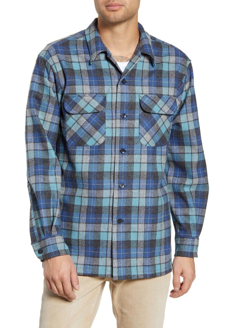 Pendleton Board Regular Fit Wool Flannel Shirt