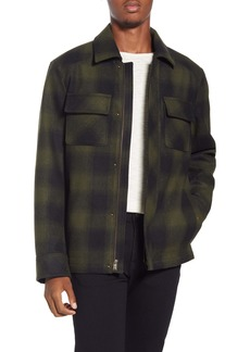 Pendleton Boulder Ombré Check Water Repellent Jacket