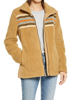 Pendleton Brooke Chimayo High Pile Fleece Jacket