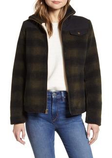 Pendleton Camas Water Resistant Plaid Fleece Coat