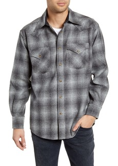 Pendleton Canyon Plaid Wool Western Shirt