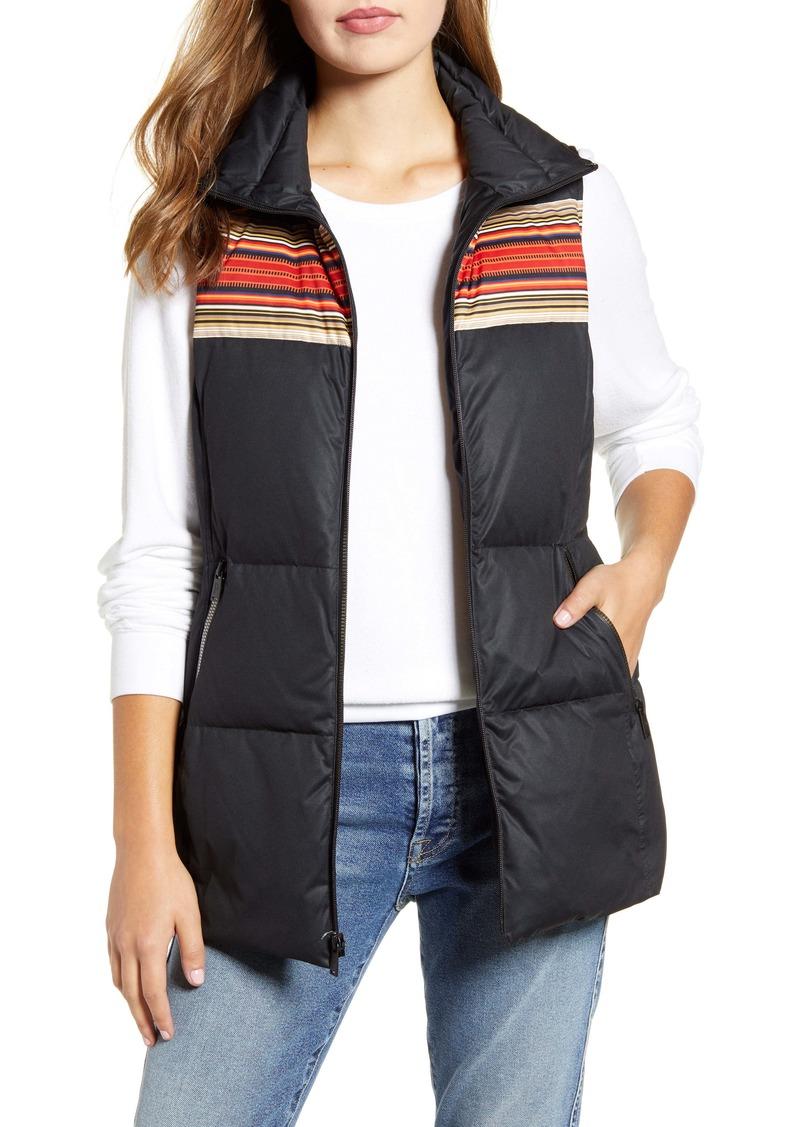 Pendleton Chalet Water Resistant Packable Down Vest