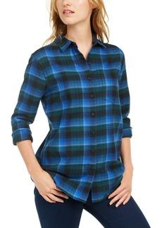 Pendleton Cotton Plaid Flannel Shirt