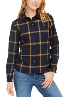 Pendleton Cropped Wool Lodge Shirt