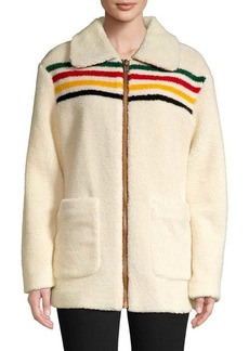Pendleton Dry Goods Glacier Sunset Fleece Barn Coat