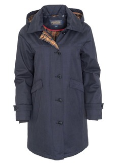 Pendleton Eastlake Plaid Lining Hooded Raincoat