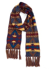 Pendleton Echo Peaks Merino Wool Fringe Scarf