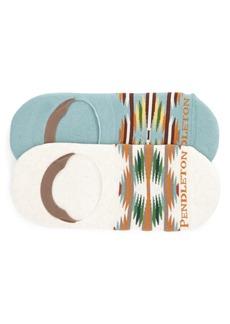 Pendleton Falcon Cove 2-Pack No-Show Socks