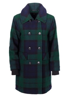 Pendleton Forest Park Double Breasted Wool Blend Coat