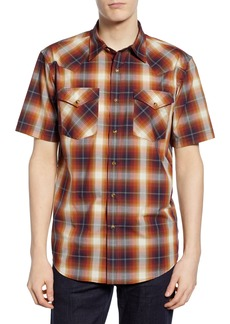 Pendleton Frontier Plaid Sport Shirt