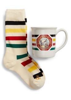 Pendleton Glacier National Park Mug & Socks Gift Set