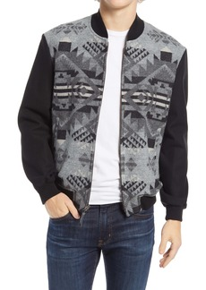 Pendleton Gorge Wool Bomber Jacket