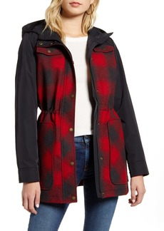 Pendleton Hayden Water Repellent Hooded Flannel Jacket