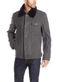 Pendleton Heritage Men's Santa Fe Tricot Wool-Blend Trucker Jacket